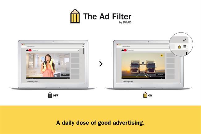 D&AD: unveils bad ad blocker.