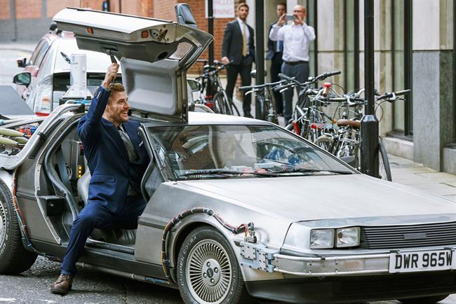 "Pepsi Max and Uber organized a ""Future Day"" stunt."