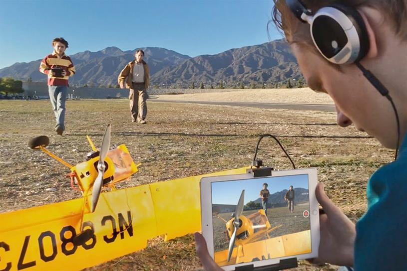 "Apple ""Make a film with iPad"" by TBWA\Media Arts Lab."