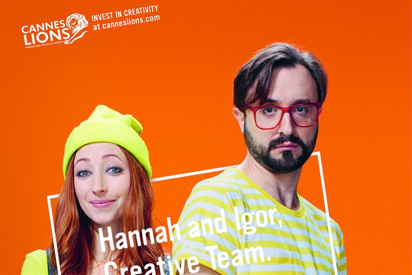 Cannes Lions: McCann London creates digital and press campaign.