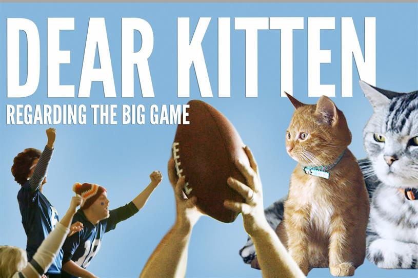 Buzzfeed and Friskies do the Super Bowl.