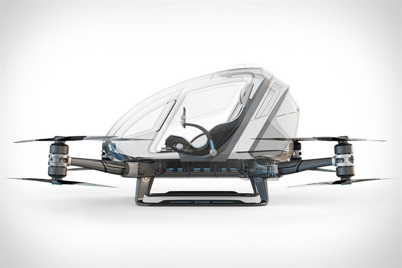 EHang's single person drone.