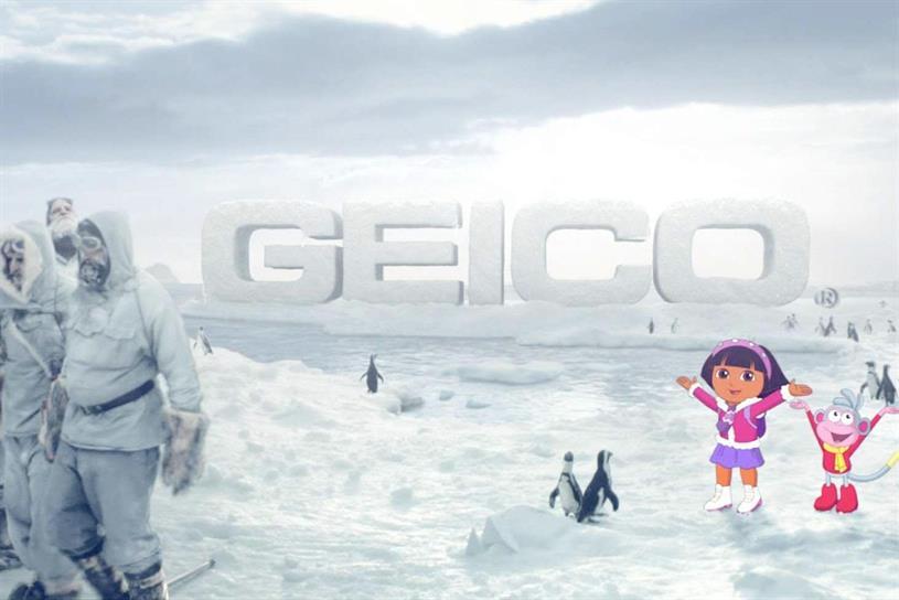 "Geico ""It's What You Do"" featuring Dora the Explorer."