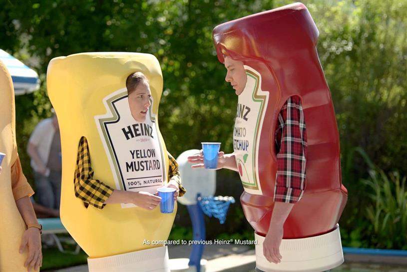 """Heinz """"Heinz Ketchup Got A New Mustard"""" by David."""