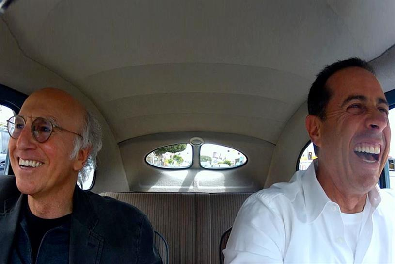 """""""Comedians in Cars Getting Coffee."""""""