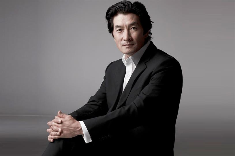 Wain Choi, VP and executive global creative director of Cheil.