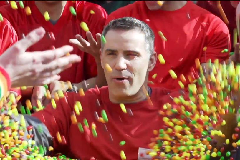 "Skittles ""Skittles Super Bowl Tailgate with Kurt Warner"" by Olson Engage."