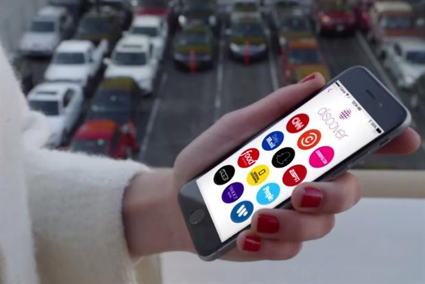 Snapchat: new Discover feature offers news, entertainment and ads.