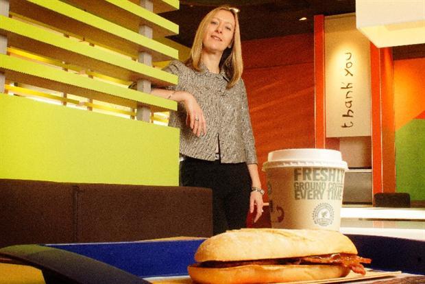McDonald's UK CEO Jill McDonald.