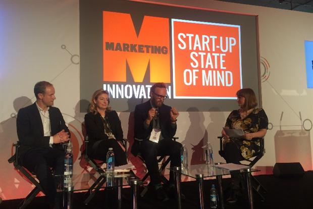 Disruption: Marketing's Advertising Week Europe panel discusses fostering a start-up culture.
