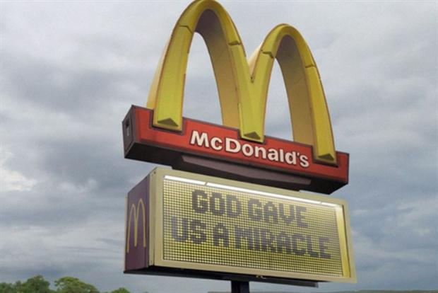 McDonald's: Campaign has had mixed reactions