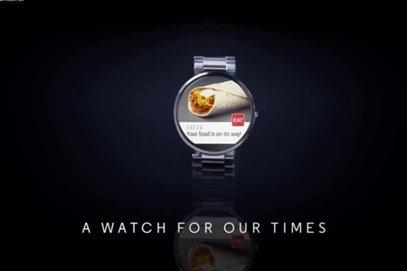 "Moto 360 ""A Watch for Our Times"" by Droga5."