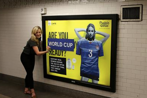 A BBH team transform Protein World posters