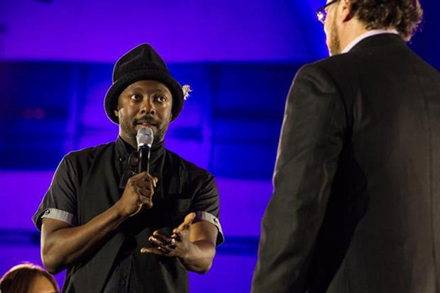 Will.i.am talks wearables at the Dreamforce conference.