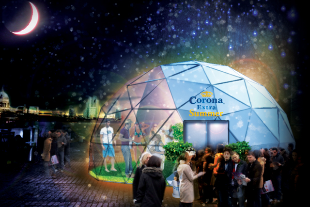 Corona Extra: rolls out 'summer' activity