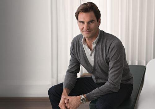 Rolex: brand ambassador Roger Federer