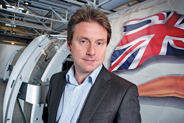 Simon Lloyd, marketing director, Virgin Atlantic