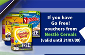 Nestle Go Free promotion