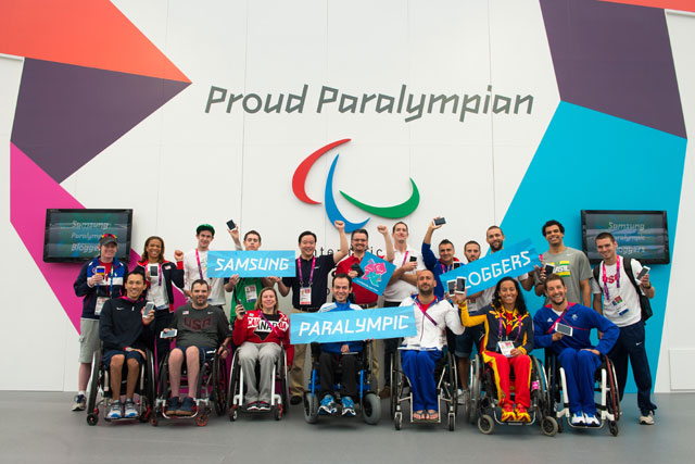 Paralympic bloggers: athletes to use Samsung devices to share their experiences