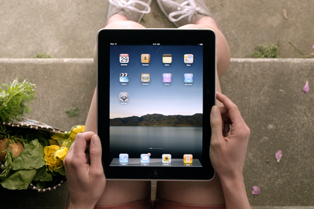 Apple: sold five million iPads this quarter