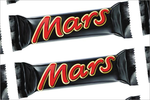 Mars: wants fewer than 250 calories in each bar