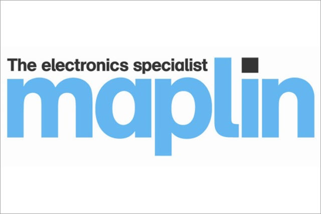 Maplin: returns to TV advertising
