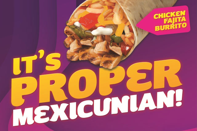 Taco Bell: backs Manchester opening with tongue-in-cheek outdoor ads