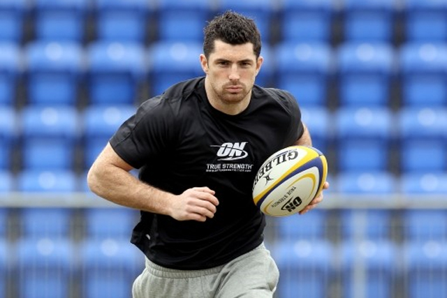 Optimum Nutrition: sponsors Irish rugby union star Rob Kearney