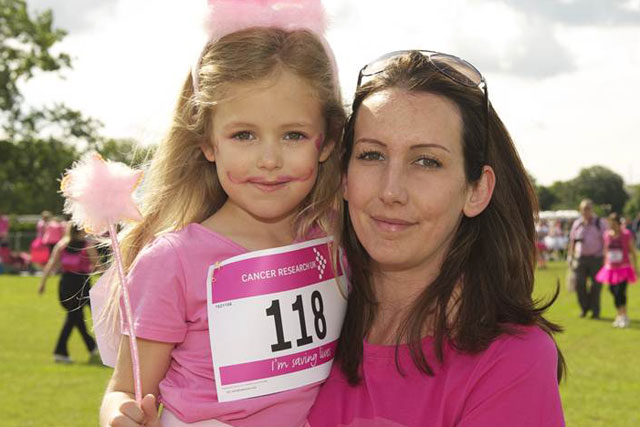 Race for Life: Cancer Research signs up Brioche Pasquier