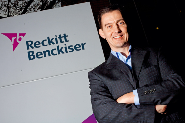 Reckitt Benckiser UK general manager Alan Thompson