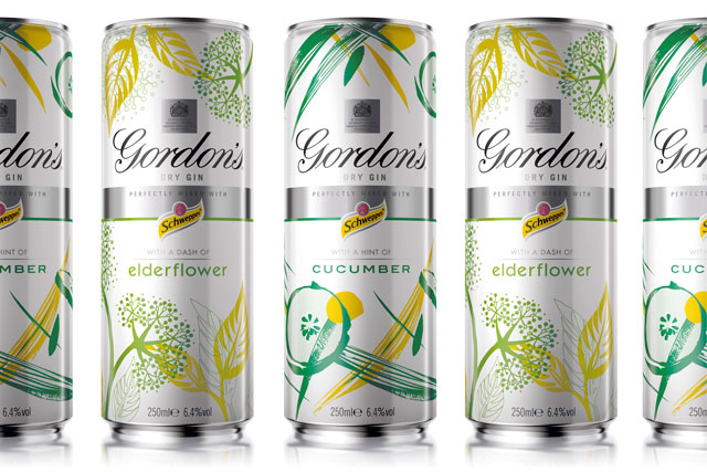 Gordon's Gin: updates range
