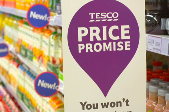 Tesco Price Promise under threat
