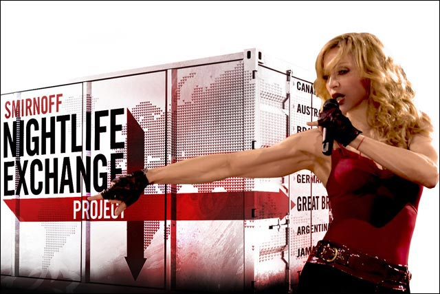 Smirnoff: vodka brand teams up with Madonna for its Nightlife Exchange Project