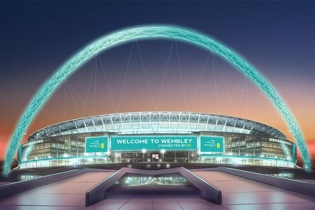 Partnership deal: EE and Wembley Stadium