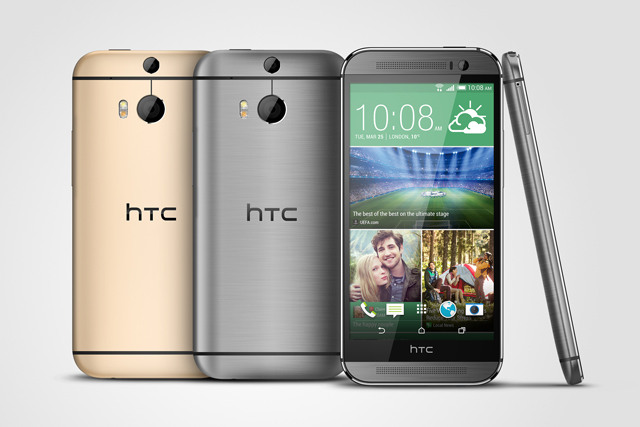 HTC One: focuses on design to combat big-spending ad budgets of 'insecure' rivals