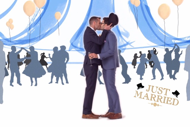 House of Fraser: celebrating the wedding season with gay marriage short