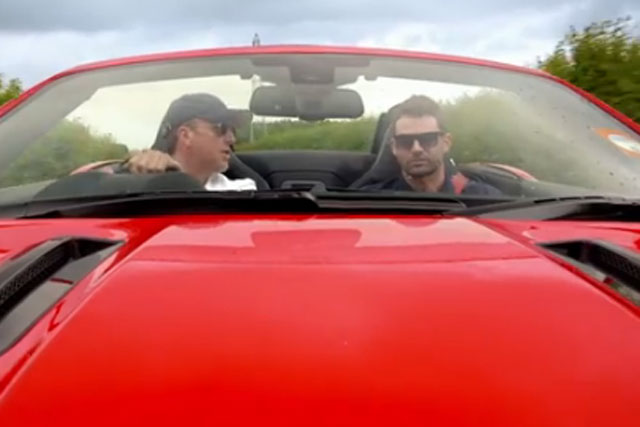 Jaguar: cricketers Graeme Swann and Jimmy Anderson star in latest campaign