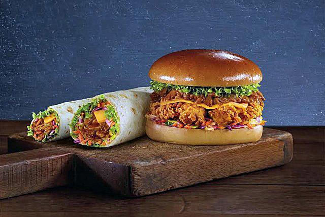 KFC: unveils its pulled chicken range