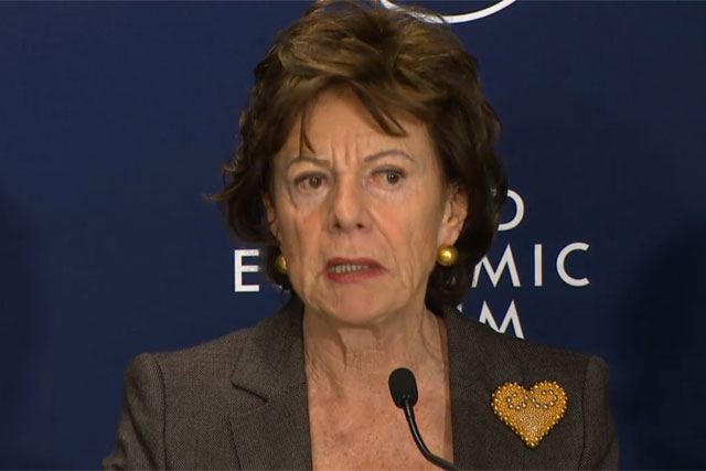 Neelie Kroes: vice-president of the European Commission