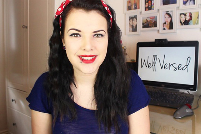Cherry Wallace: YouTuber backs the Well Versed campaign