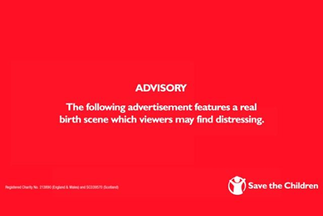 Save the Children 'live birth' ad escapes ban despite 613 complaints