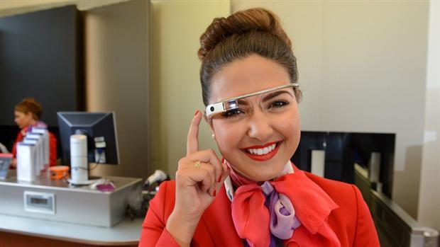 Virgin Atlantic is using Google Glass