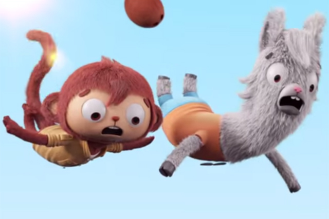 Alpro: ad not dissimilar to a children's TV show