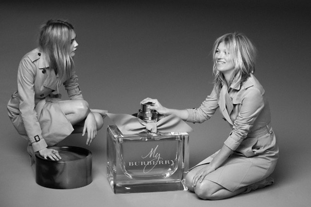 Burberry: Cara Delevingne and Kate Moss star in the latest campaign