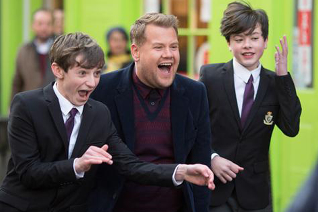 Cadbury: viral stars actor James Corden