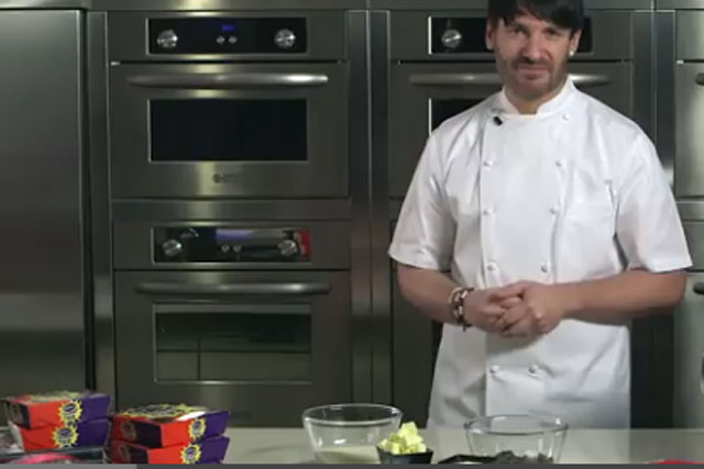 Cadbury: chef Eric Lanlard challenges consumers to devise Creme Egg recipes