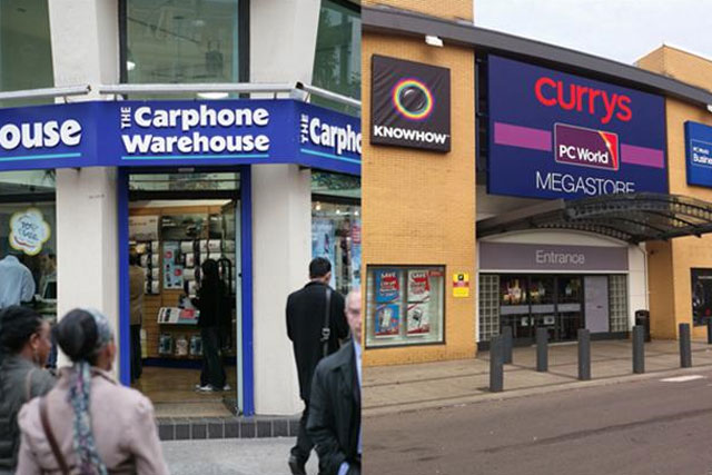 Dixons and Carphone Warehouse: announce profits hikes as merger cleared by EC