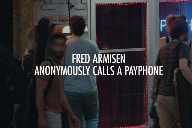 Heineken teaser: Comedian and actor Fred Armisen anonymously calls passersby on NYC payphone