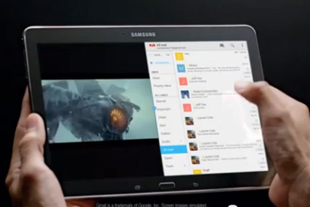 Samsung: introduces the Galaxy Tab Pro 10.1