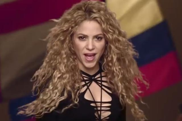 Activia: using Shakira in ad